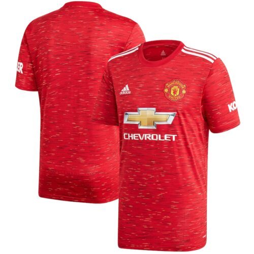Manchester United Home Jersey Kit 2020/21