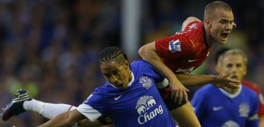 Tom Cleverley vs Everton