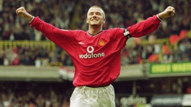 David Beckham, Tottenham 3-5 Manchester United