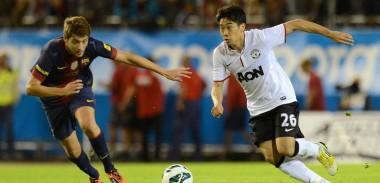 Shinji Kagawa vs Barcelona