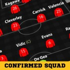 CONFIRMED SQUAD: Manchester United vs Liverpool
