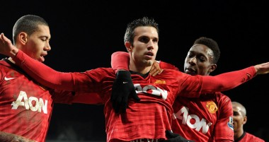 Robin van Persie Manchester United vs West Brom