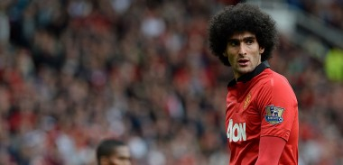 Fellaini Manchester United
