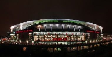 Emirates Stadium Night