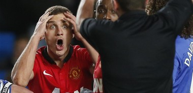 nemanja-vidic-sent-off-not-happy