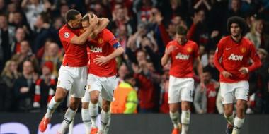 Manchester United v FC Bayern Munich - UEFA Champions League Quarter Final Vidic