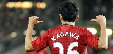 Shinji Kagawa Manchester United shirt